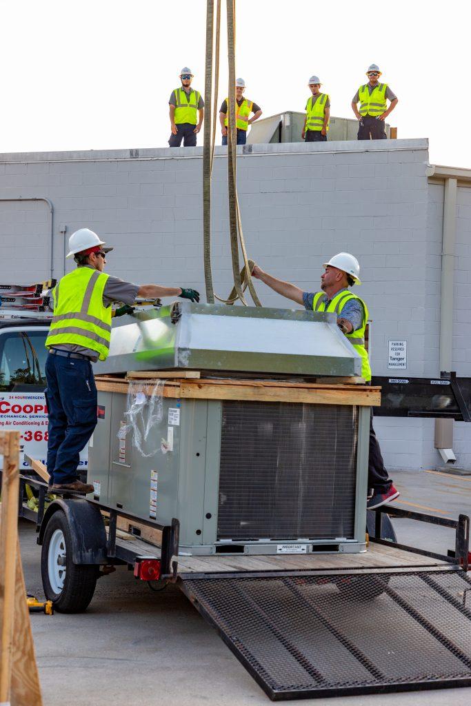 Commercial heatin installation Myrtle Beach